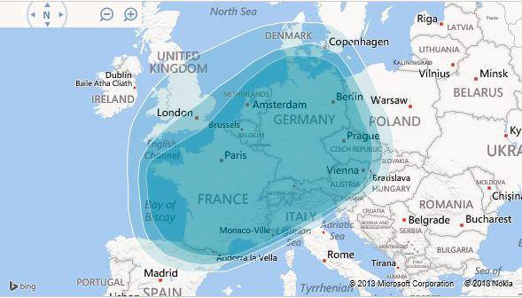 Map Of Europe West.Ancestry Dna Results